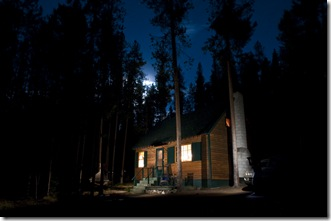 night cabin